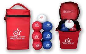 Мячи для игры Бочча